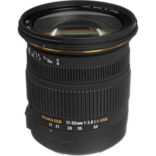 Sigma Lensa For Canon 17 50Mm F 2 8 Ex Dc Os Hsm Hitam Asli
