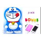 Jual Beli Silicon 3D Kartun Doraemon Softcase Casing For Samsung Galaxy J1 Ace Free Power Bank Samsung Slim Di Indonesia
