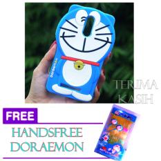 Rp 56.000. Silicon 3D Kartun Doraemon Softcase Casing For Xiaomi Redmi Note 3 FREE Handsfree Karakter ...