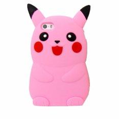 Silicon  3D Pokemon Oppo Neo 9 - PINK