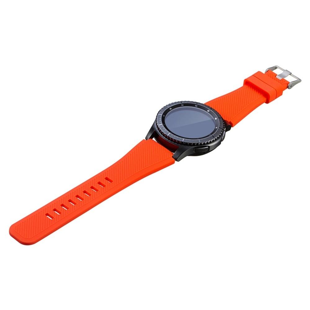 Silicone Bracelet Strap Watch Band untuk Samsung Gear S3 Frontier Klasik L Ukuran-Intl