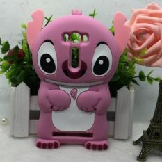 Silicone Case Soft New 3D Cartoon Stitch For ASUS ZenFone 2 Laser ZE500KL ZE500KG 5.0 Inch (Pink) - intl