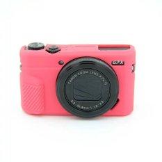 Silicone Karet Camera Case Bag Cover untuk Canon PowerShot G7X Mark 2 G7X II G7X2 G7XII Kamera-Intl