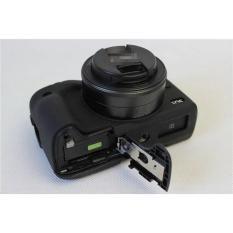 Silicone Rubber Case hitam Canon EOS M3 EOSM 3