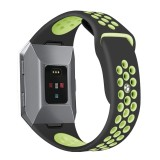 Spesifikasi Silicone Rubber Sports Wristband Strap For Fitbit Ionic Smart Watch Intl Lengkap