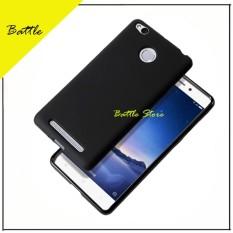 Silicone Soft Case Baby Skin For Xiaomi Redmi 3s Pro Case Luxury Matte Cover For Xiaomi Redmi 3s Pro - Black