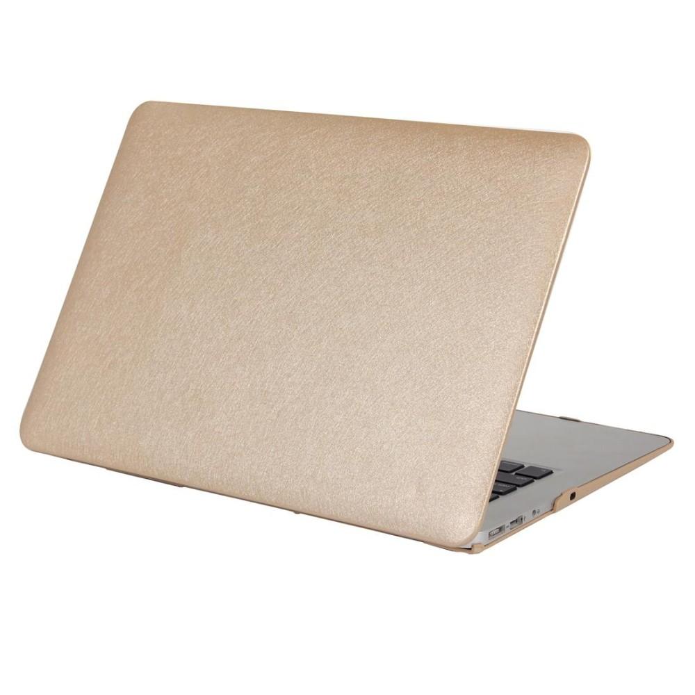 Tekstur Sutra Apple Laptop Buah Kasus Pelindung untuk Macbook Udara 13.3 Inch (Emas)-Internasional
