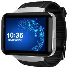 Obral Perak Dan Hitam Domino Dm98 2 2 Inch Android 4 4 3G Smartwatch Ponsel Mtk6572 Dual Core 1 2 Ghz 4 Gb Rom Kamera Bluetooth Intl Murah