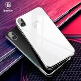 Beli Silver Baseus Untuk Iphone X Kembali 4D Liputan Layar Penuh Film Screen Protector Tempered Glass Back Cover Kaca Film Untuk Iphonex 10 Intl Kredit Tiongkok