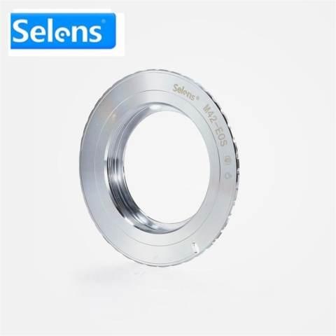 Silver Selens Lens Adapter Ring untuk M42 (Tembaga) -EOS Lensa untuk Kamera Canon EOS EF Mount Lens Adapter Ring-Intl Fotografi Kamera 5