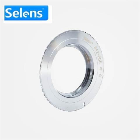 Silver Selens Lens Adapter Ring untuk M42 (Tembaga) -EOS Lensa untuk Kamera Canon EOS EF Mount Lens Adapter Ring-Intl Fotografi Kamera 4