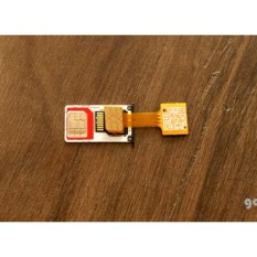 Sim Card + Micro Sd Converter For Hybrid Smarthpone Free Noosy Adapter By Bumblebee.
