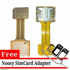 SIM Card + Micro SD Converter for Hybrid Smarthpone Free Noosy Adapter