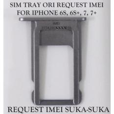 Sim Tray Iphone 6S 6Splus 7 7Plus Request Imei Asli