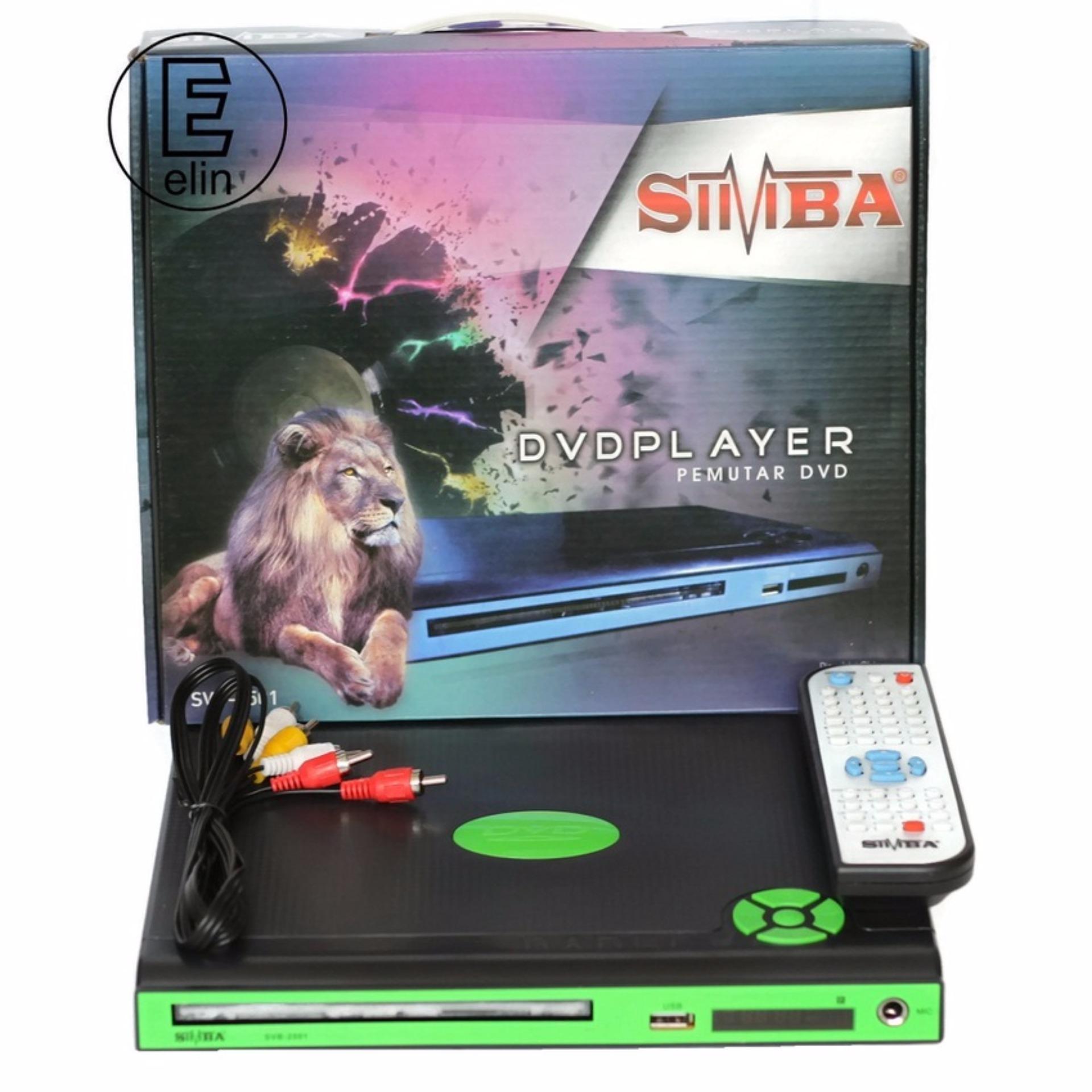 Harga Simba Dvd Player Svb 2501 Hitam Seken