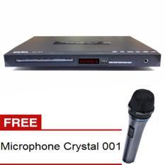 Spesifikasi Simba Pemutar Dvd Sv 315C Hitam Free Microphone Kabel Yang Bagus