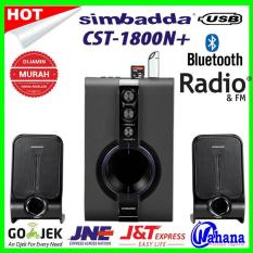 Simbadda Cst-1800n+ Speaker Multimedia Port USB MMC BLUETOOTH