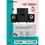 Spesifikasi Simbadda Cst 1900N Plus Bluetooth Aux Usb Radio Memory Card Online