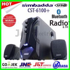 Simbadda CST 6100N+Hitam