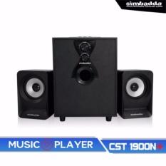 Jual Simbadda Multimedia Speaker Cst 1900 N Bluetooth Hitam Satu Set
