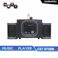 Spesifikasi Simbadda Music Player Cst 2700 N Terbaik