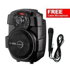 Simbadda Music Player CST 836N + Free Microphone