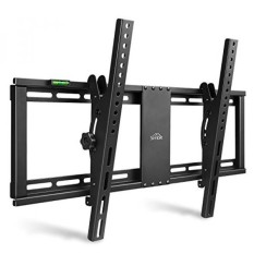 SIMBR TV Wall Mount Bracket for Most 26-75'' LED, LCD and Plasma TVs, up to VESA 600 x 400mm, 132 lbs Loading Capacity - intl