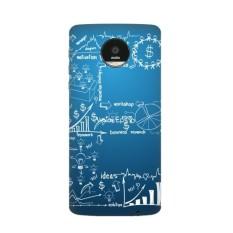 Kerja Sederhana Brainstorm Data Kurva Ilustrasi Motorola MOTO Z/Z Force/Z2 Force Droid Magnetic Mods Phonecase Gaya Mod Hadiah-Intl