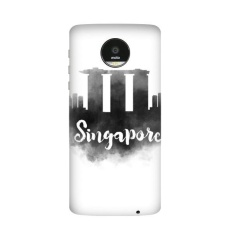 Singapore Ink City Motorola Moto Z / Z Force / Z2 Force Droid Magnetic Mods Phonecase Style Mod Gift - intl
