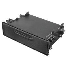 Review Terbaik Single Din Cd Player Dash Radio Stereo Universal Car Storage Trim Kit Pocket Box