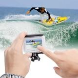 Beli Sinofer Waterproof Case Xiaomi Yi 2 4K Touchscreen Underwater Housing Multi