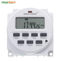 SINOTIMER 12 V Digital Serbaguna Kontrol Diprogram Power Timer Switch-Intl