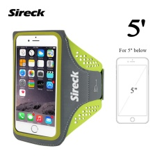 Sireck 5.0 Inches Armband Outdoor Menjalankan Arm Tas ARM Pouch Arms Paket Jogging Gym Multifungsi Mobile Phone Armband Waterproof Case Cover Holder 4 Warna-Intl