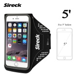 Beli Sireck 5 Inches Armband Outdoor Menjalankan Lengan Tas Arm Pouch Arms Paket Jogging Gym Multifungsi Mobile Phone Armband Waterproof Case Cover Holder 4 Warna Intl Murah