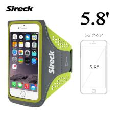 Sireck 5.8 Inches Armband Outdoor Menjalankan Arm Tas ARM Pouch Arms Paket Jogging Gym Multifungsi Mobile Phone Armband Waterproof Case Cover Holder 4 Warna-Intl