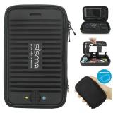 Ulasan Mengenai Sisma Jinjing Case Organizer 2 In 1 Untuk Stik Usb Kabel Hub Portable Portable Baterai Earphone Dan Lebih Kecil Elektronik Aksesoris Travel Electronics Tas Pengelola Untuk Perjalanan Bisnis Dibundel Kecil Pouch Hitam Intl