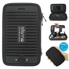 Beli Sisma Jinjing Case Organizer 2 In 1 Untuk Stik Usb Kabel Hub Portable Portable Baterai Earphone Dan Lebih Kecil Elektronik Aksesoris Travel Electronics Tas Pengelola Untuk Perjalanan Bisnis Dibundel Kecil Pouch Hitam Intl Sisma