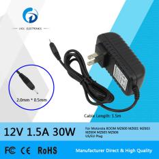 Beli Siu Hong 12 V 1 5A 30 W Ac Laptop Power Adapter Charger Untuk Motorola Xoom Mz600 Mz601 Mz603 Mz604 Mz605 Mz606 Us Eu Plug Secara Angsuran