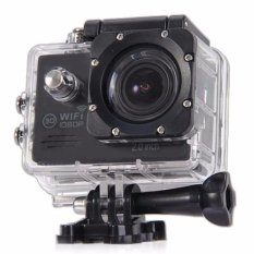Promo Sj7000 Action Camera 2 Inch Lcd Wifi Tahan Air Sports Cam Hitam Intl