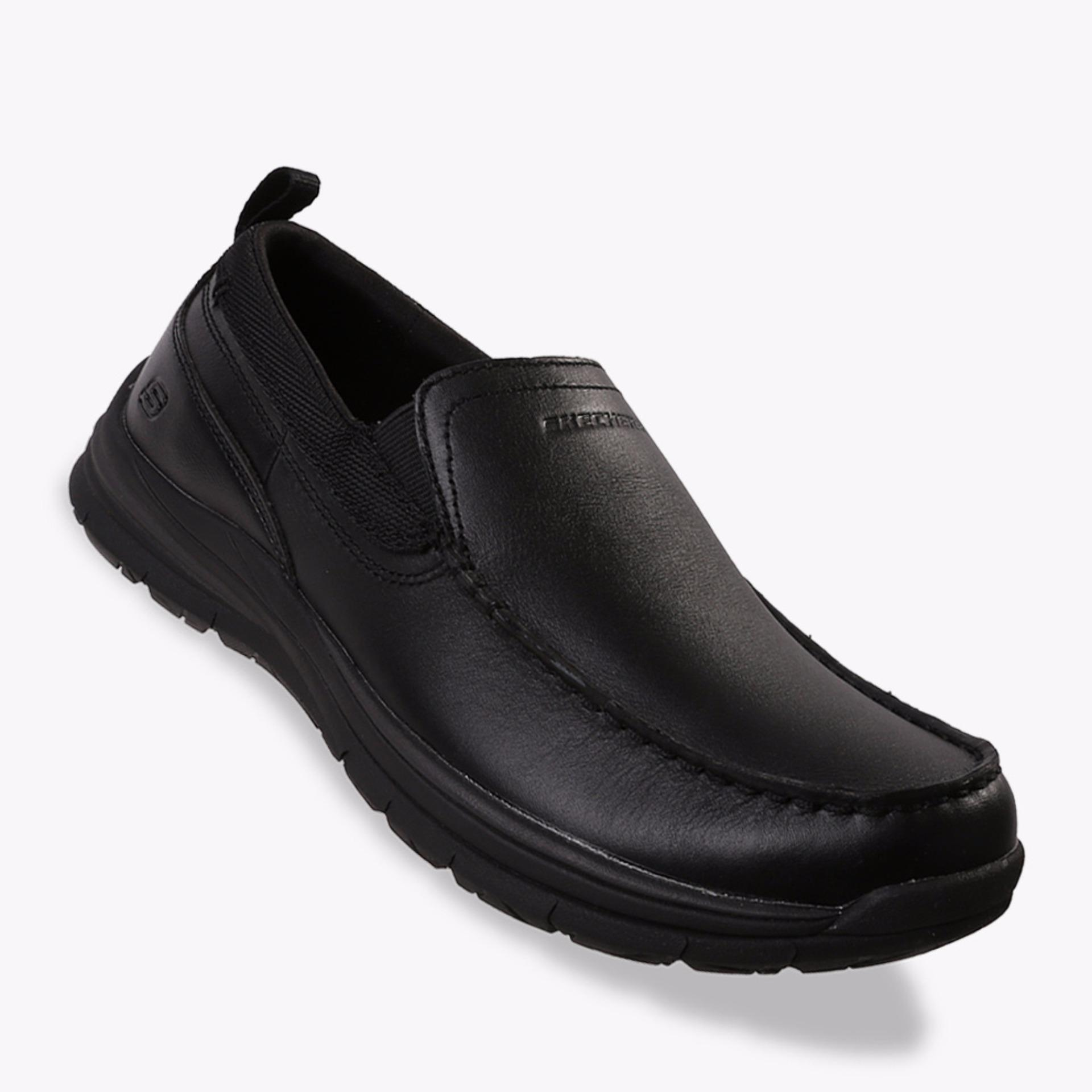 Review Skechers 2 Jenevo Men S Sneakers Shoes Hitam