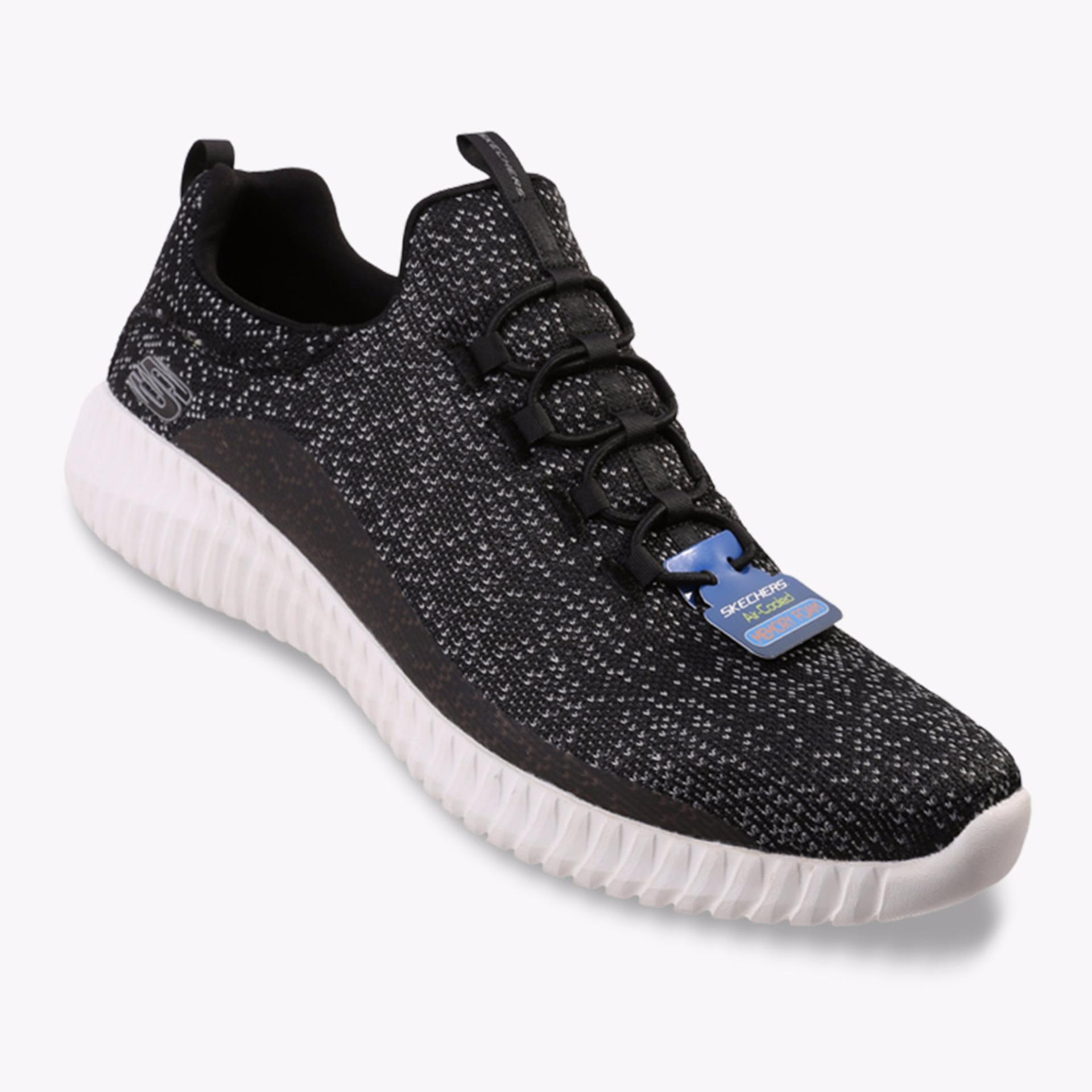 Top 10 Skechers Elite Flex Muzzin Men S Sneakers Shoes Hitam Online