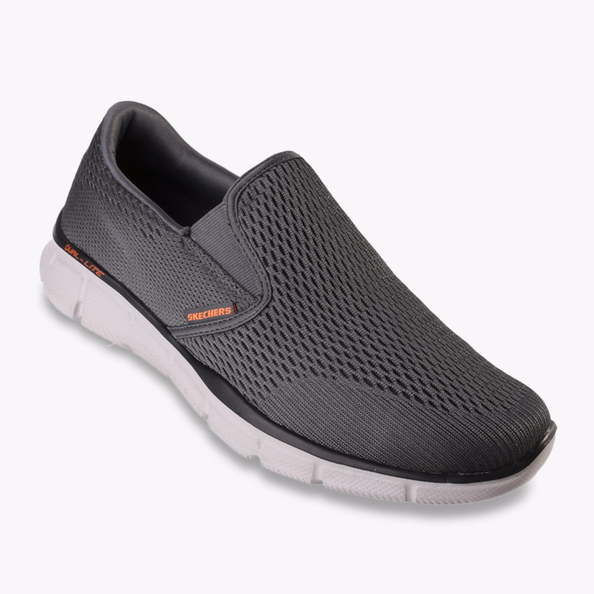 Toko Skechers Equalizer Double Play Men S Sneakers Abu Abu Indonesia