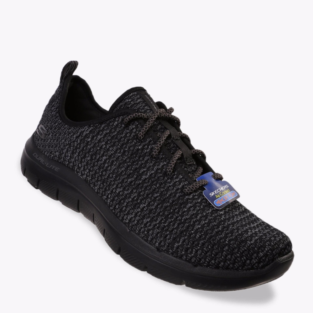 Miliki Segera Skechers Flex Advantage 2 Cravy Men S Sneakers Shoes Hitam