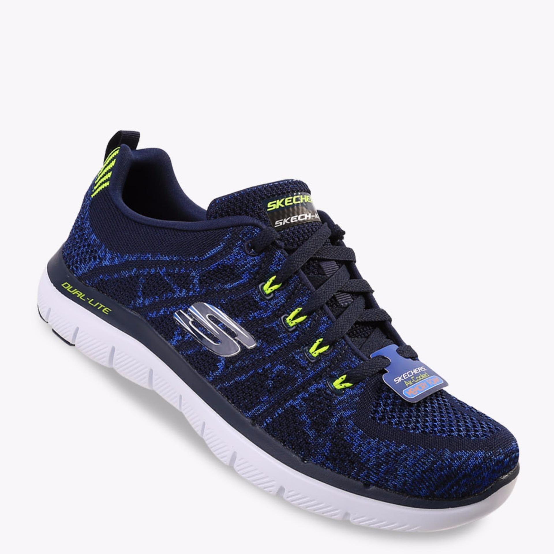 Harga Skechers Flex Advantage 2 Talamo Women S Sneakers Shoes Biru Yang Bagus
