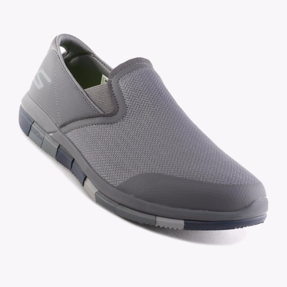 Beli Skechers Go Flex Walk Men S Sneakers Abu Abu Terbaru
