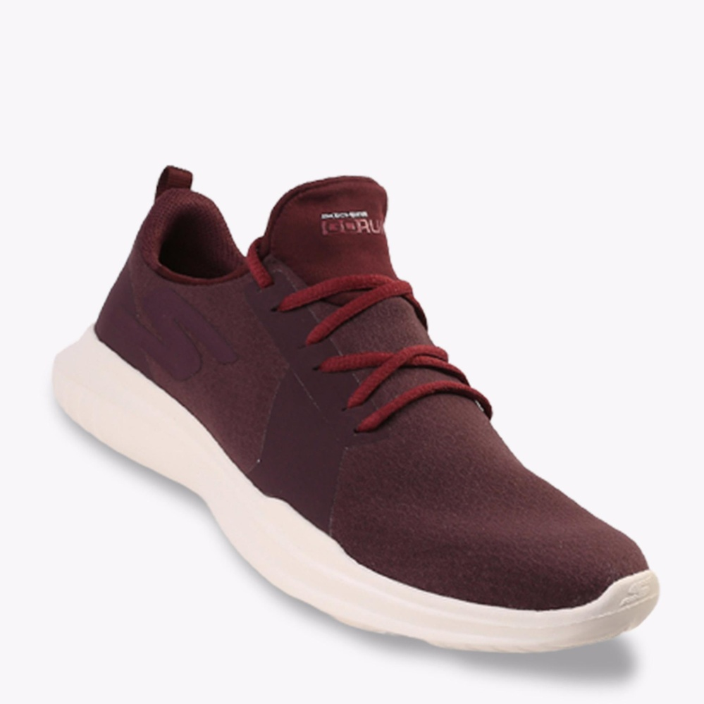 Toko Skechers Go Run Mojo Women S Running Shoes Maroon Di Indonesia