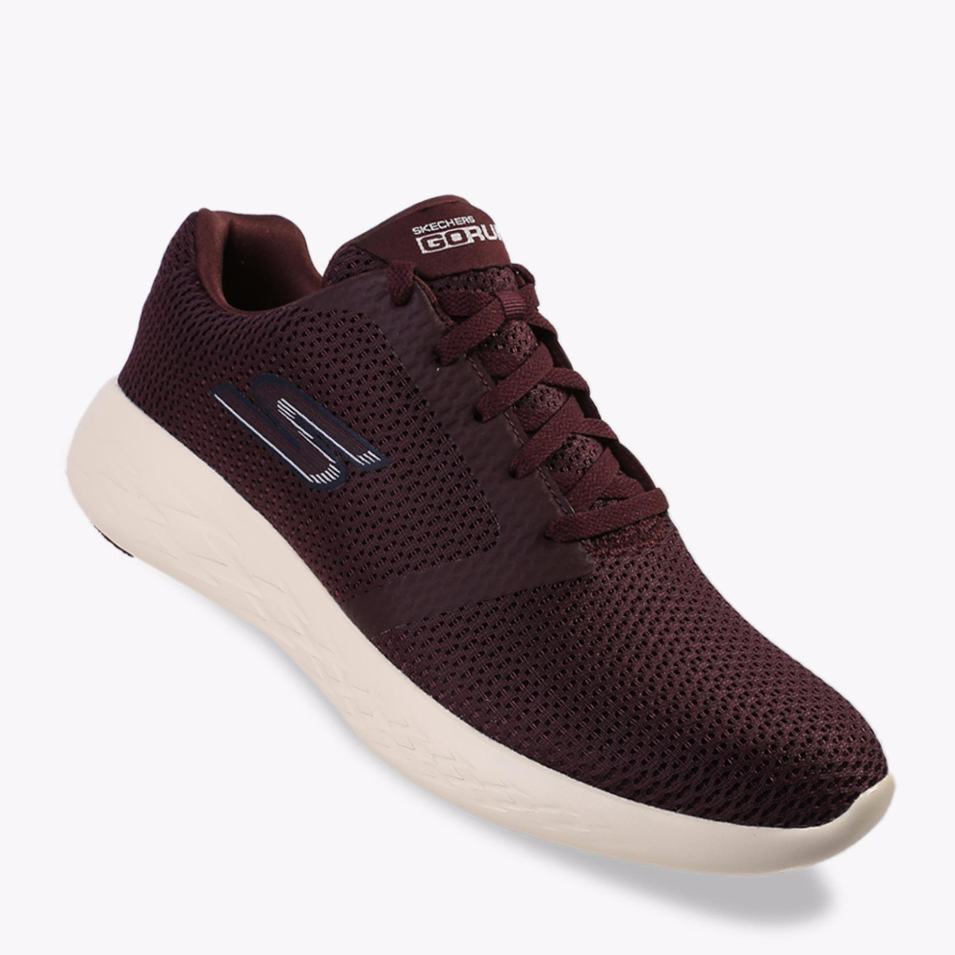 Diskon Besarskechers Gorun 600 Refine Men S Running Shoes Maroon