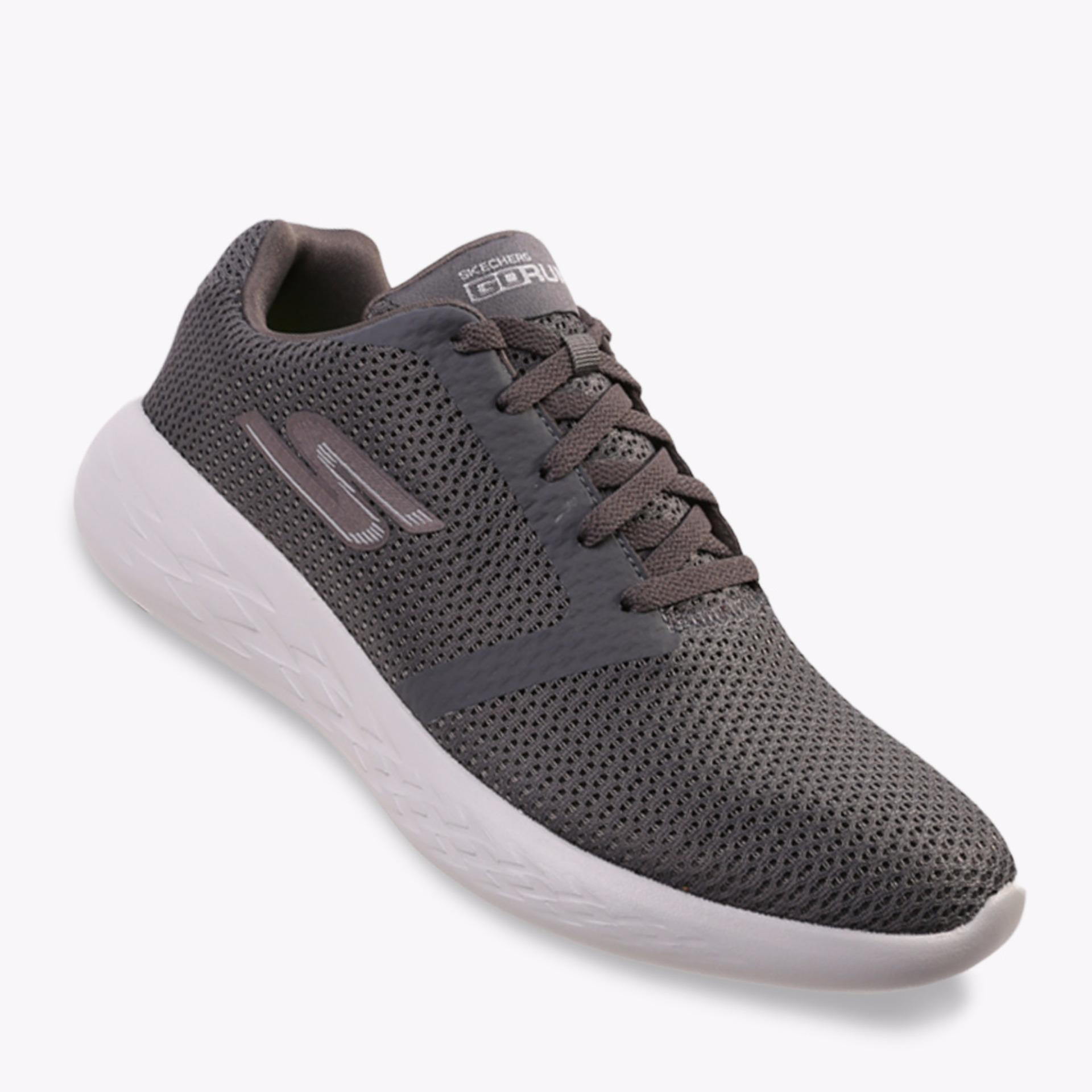 Harga Skechers Gorun 600 Refine Men S Running Shoes Abu Abu Online