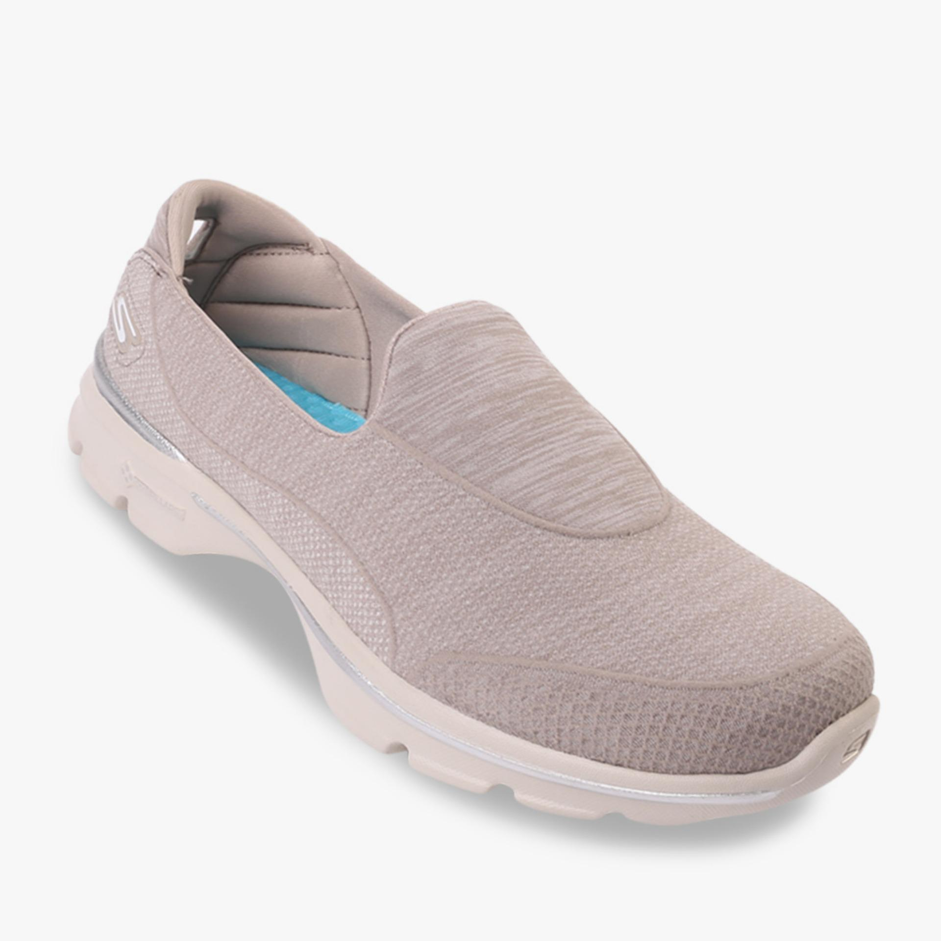 Tips Beli Skechers Gowalk 3 Super Sock 3 Women S Sneakers Cream