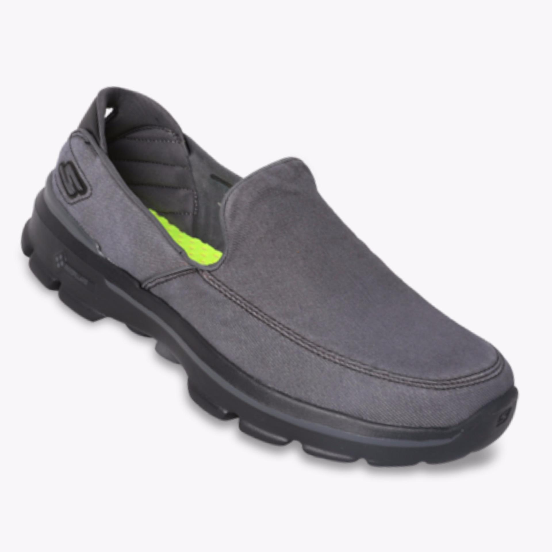 Skechers Gowalk 3 Unwind Men S Sneakers Hitam Indonesia Diskon 50